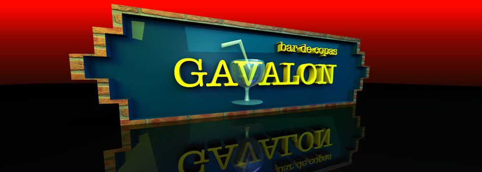 Logo Gávalon bar de copas Boadilla del Monte.