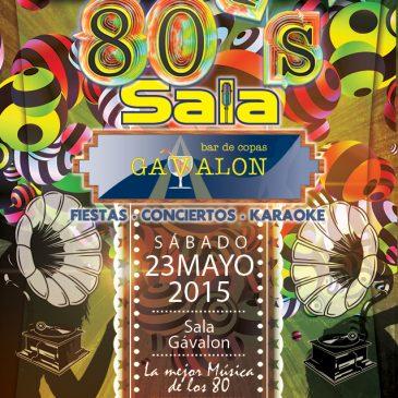Fiesta de los 80`s en Sala Gávalon Boadilla.