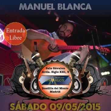 Concierto Manuel Blanca en Sala Gávalon