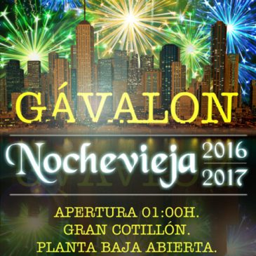 Nochevieja 2016 en Gávalon