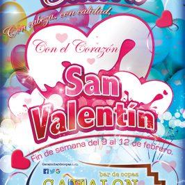 Celebra San Valentín