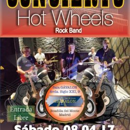 concierto hot wheels