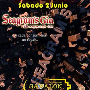 Fiesta Seagram´s Gin Gavalon Boadilla