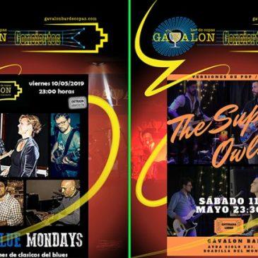 Conciertos Fin de Semana 10/11 Mayo19