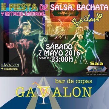 Salsa y Bachata -II Fiesta de Salsa y Bachata, Sala Gávalon Boadilla.